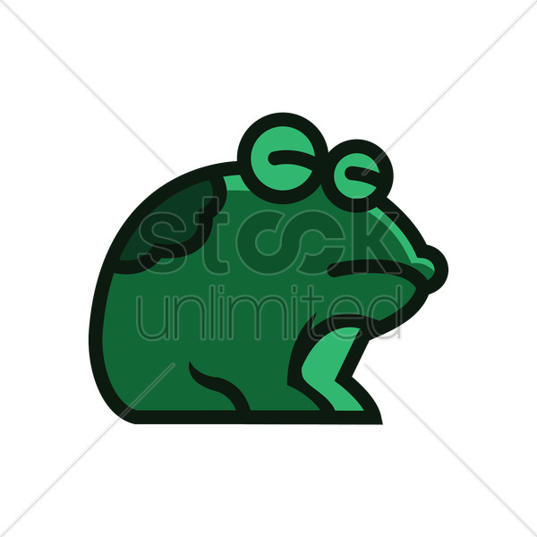 frog icon vector graphic - Frog And Toad PNG