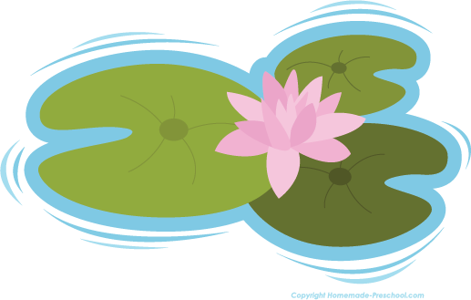 Frog On Lily Pad Clip Art - Frog On Lily Pad PNG