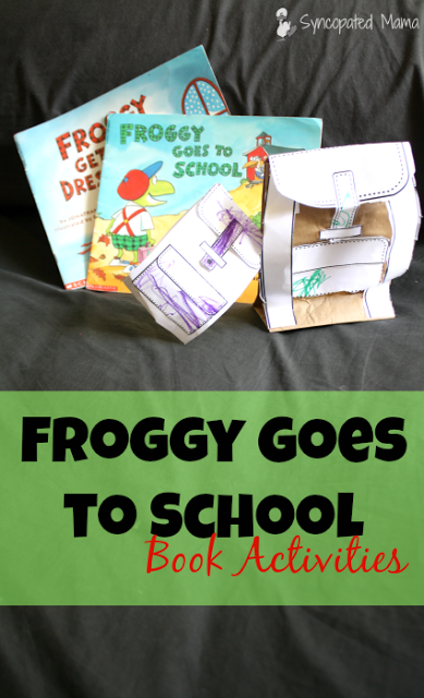 Froggy Goes to School Book Activities Does your child love the zany antics  of Froggy? - Froggy Goes To School PNG