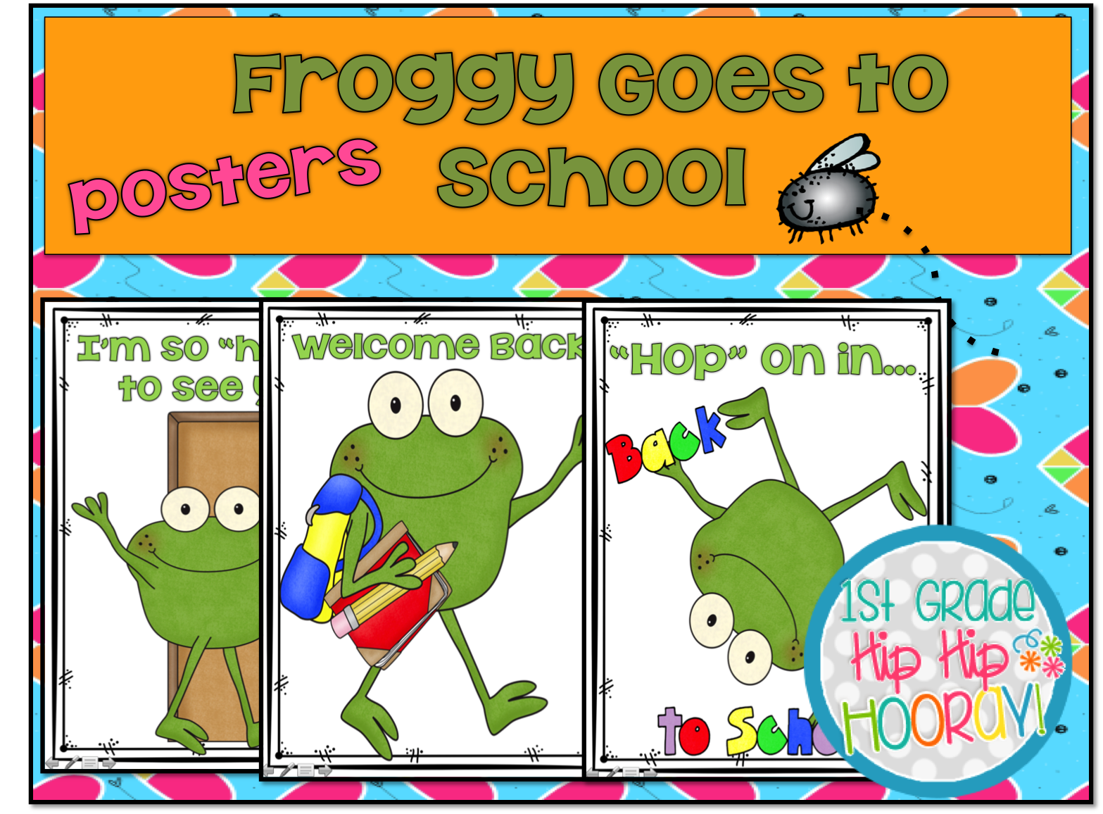 I put these signs in plastic sign holders to place around the classroom. - Froggy Goes To School PNG