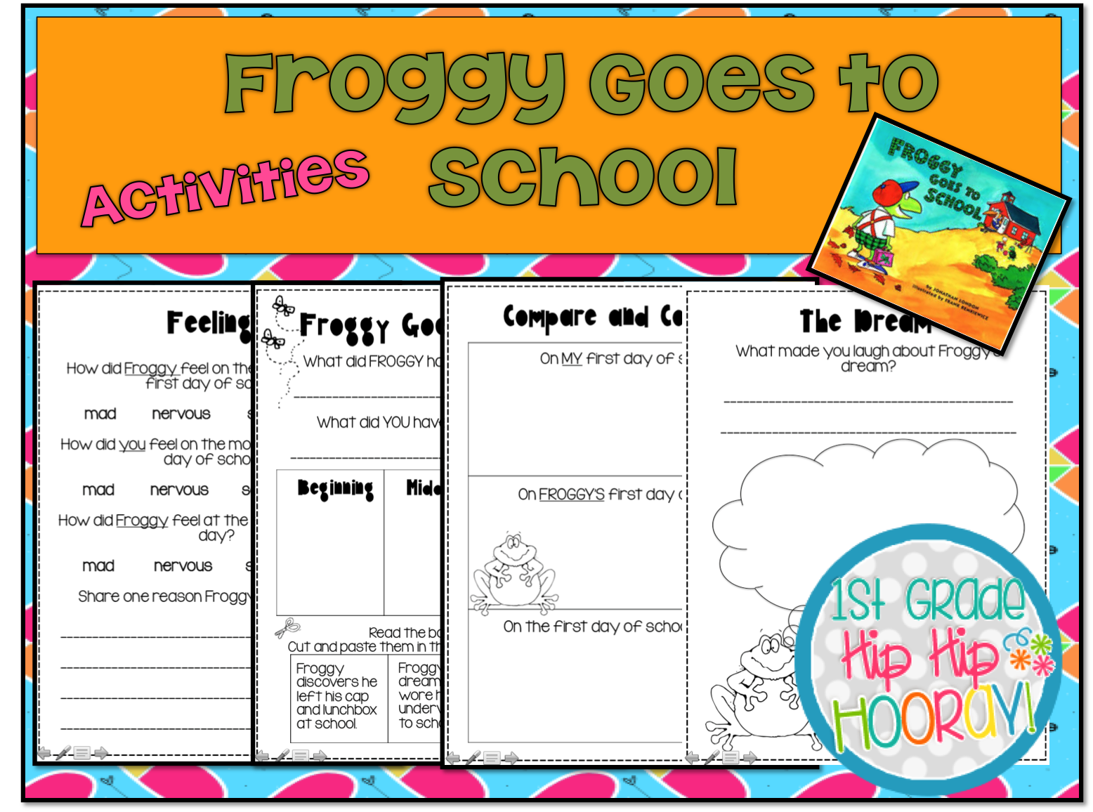 Since we are talking frogs here what fun to read...Froggy Goes to School. - Froggy Goes To School PNG