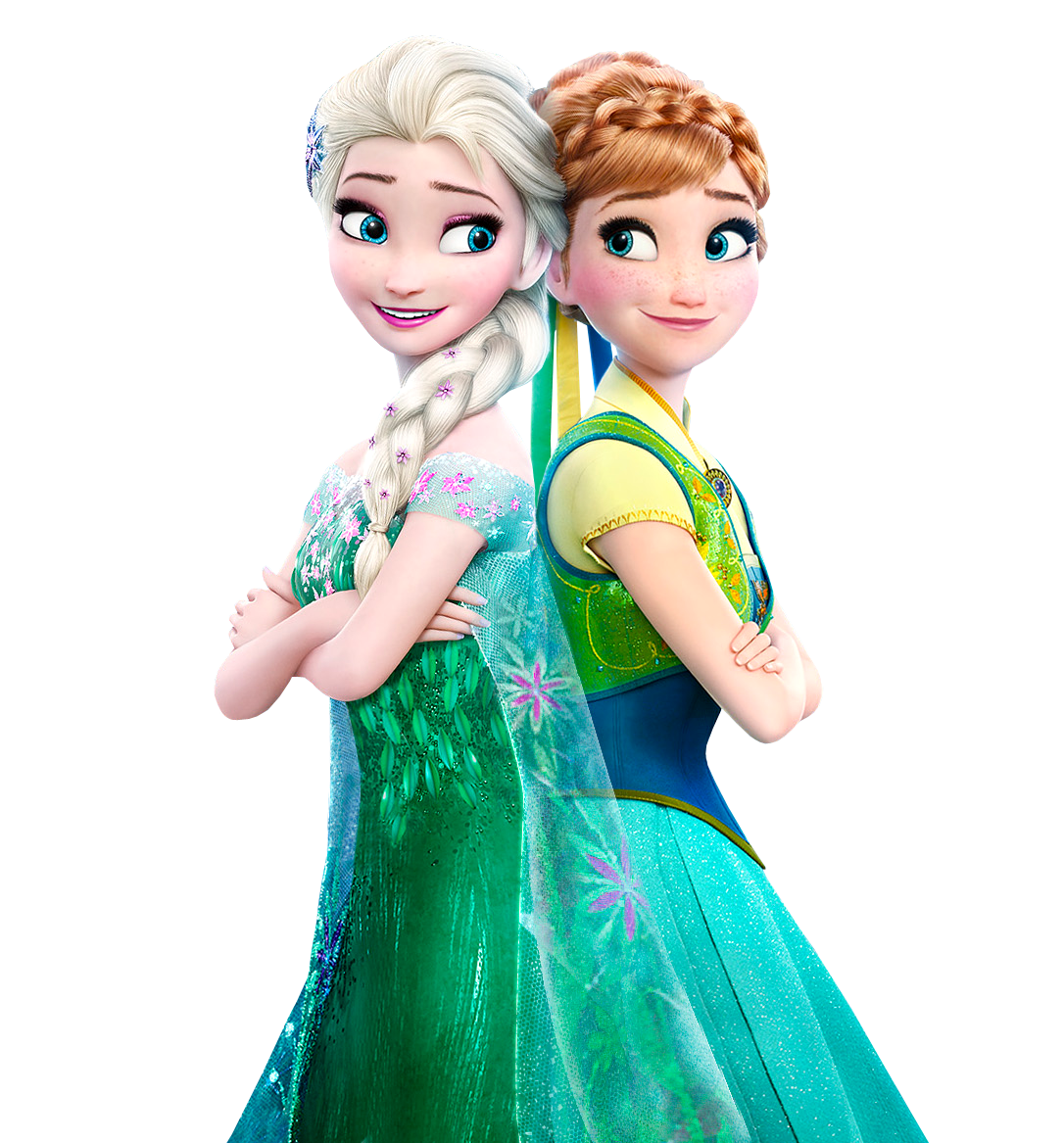. PlusPng.com Elsa and Anna Frozen Fever - Vector by Simmeh - Frozen HD PNG