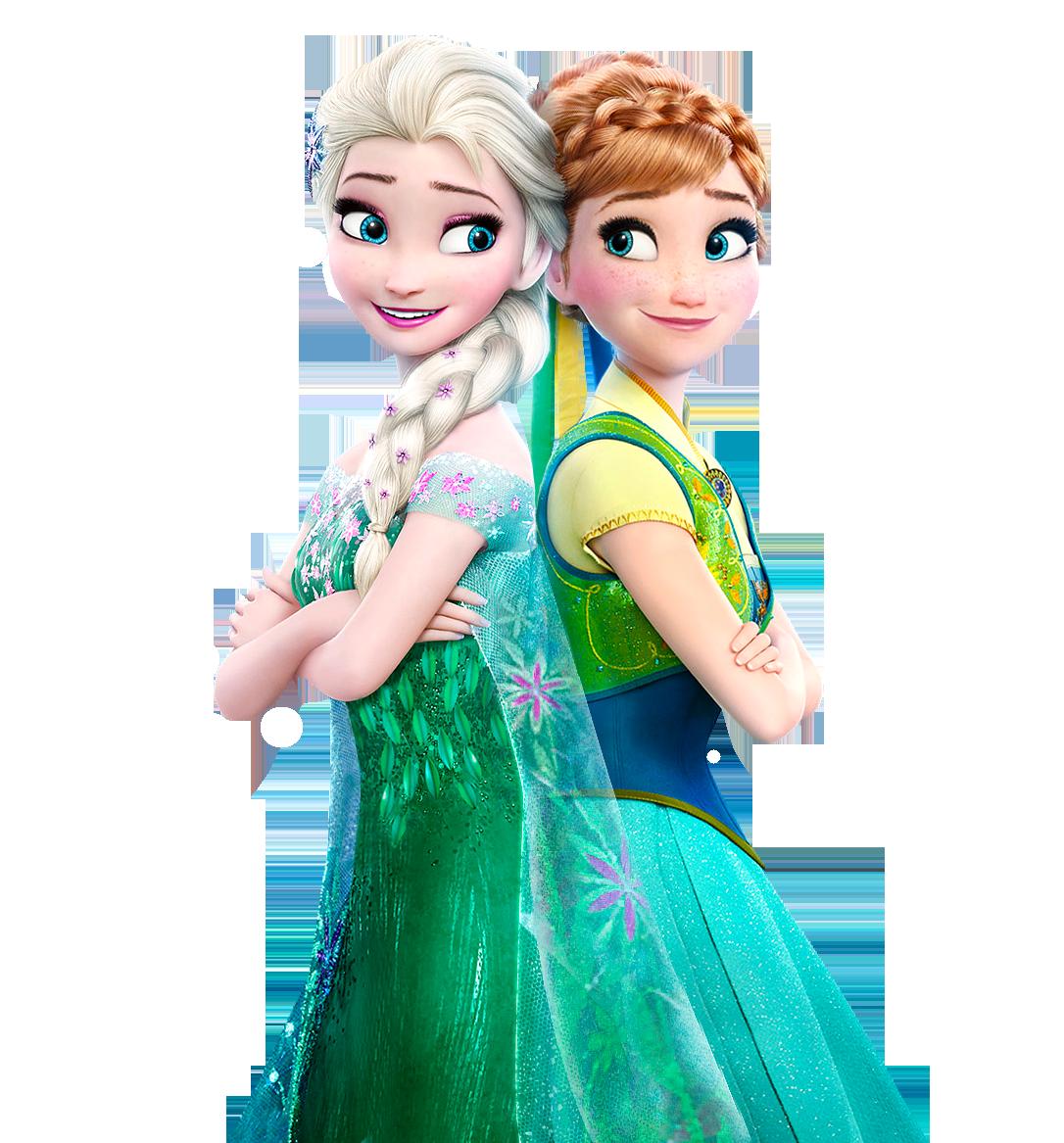 . PlusPng.com Elsa and Anna Frozen Fever - Vector by Simmeh - Frozen HD PNG