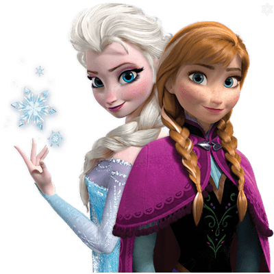 Frozen Duo - Frozen HD PNG