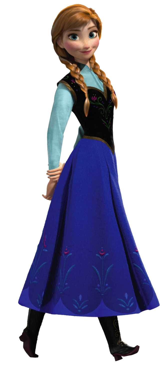 Disney-Anna-2013-princess-frozen.png - Frozen PNG