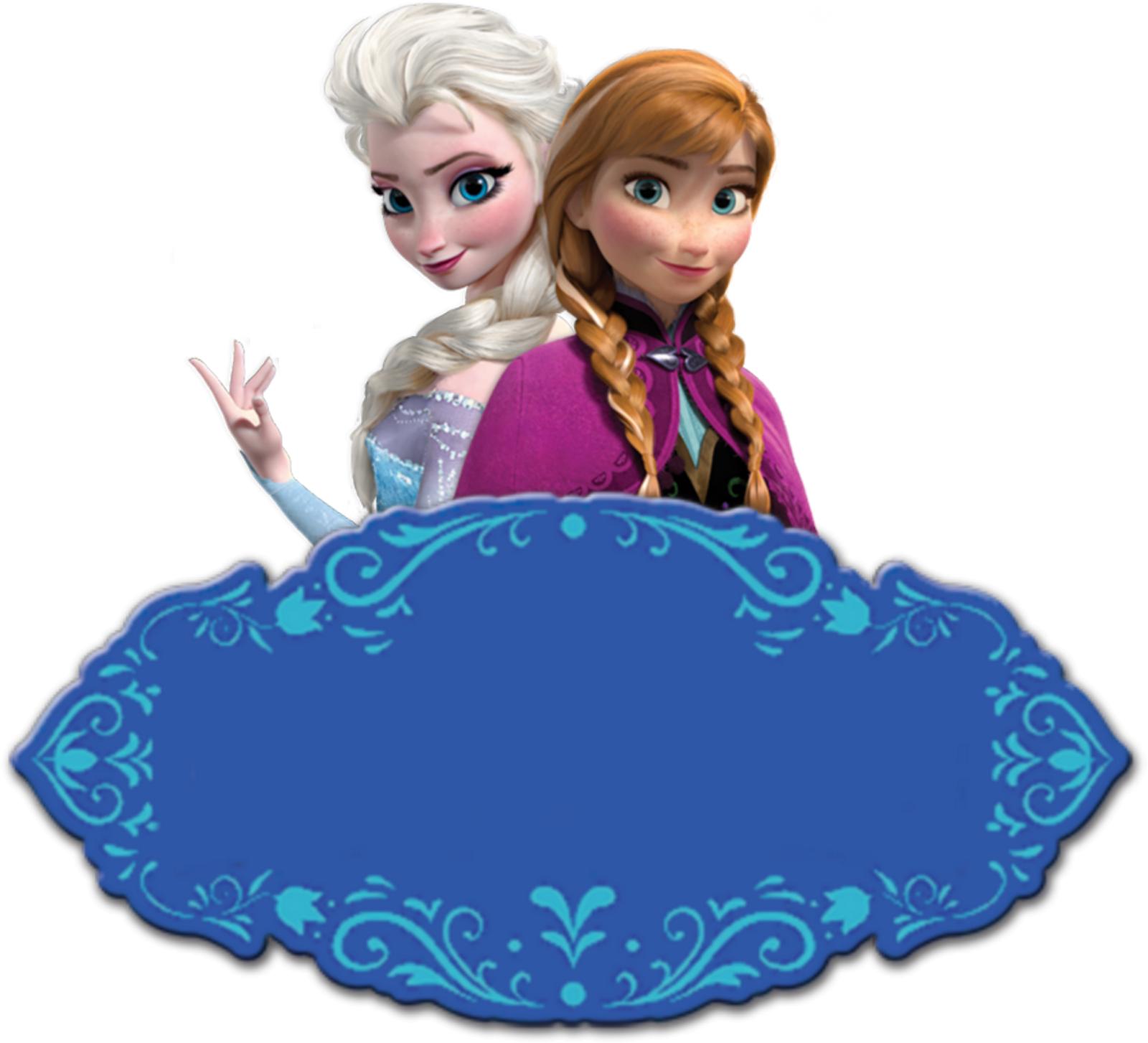 Fazendo a Propria Festa: KIT DE PERSONALIZADOS TEMA FROZEN - Frozen PNG