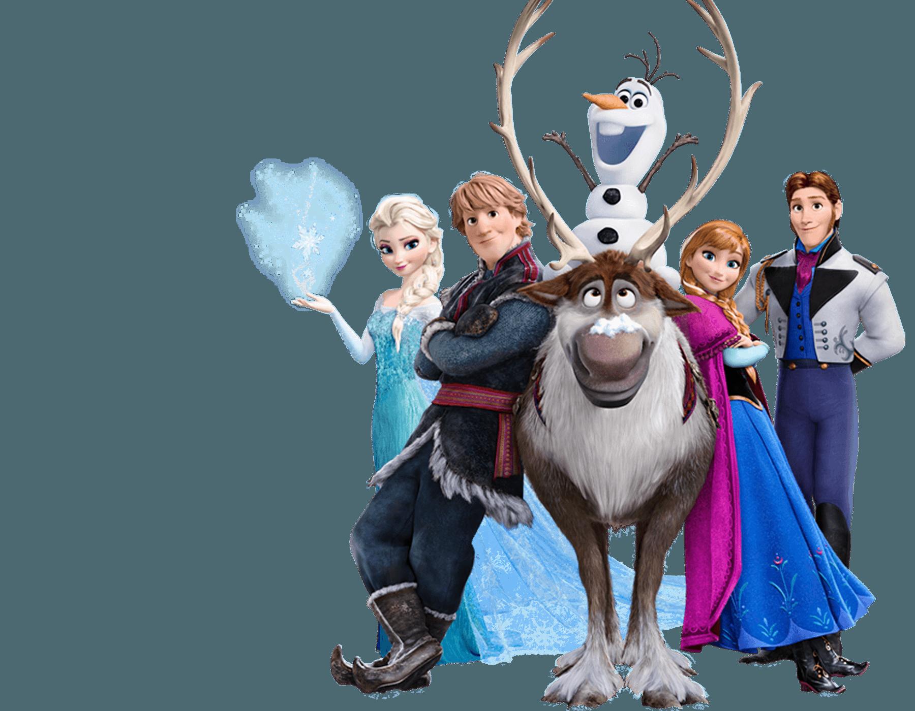 Imagem Frozen Disney Personagens - Frozen PNG