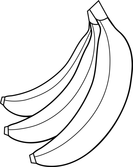 Fruit black and white fruits clipart black and white pluspng - Fruit And Veg PNG Black And White