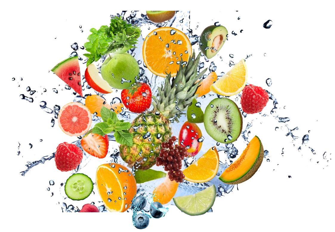 Fruit Water Splash Png Clipart PNG Image