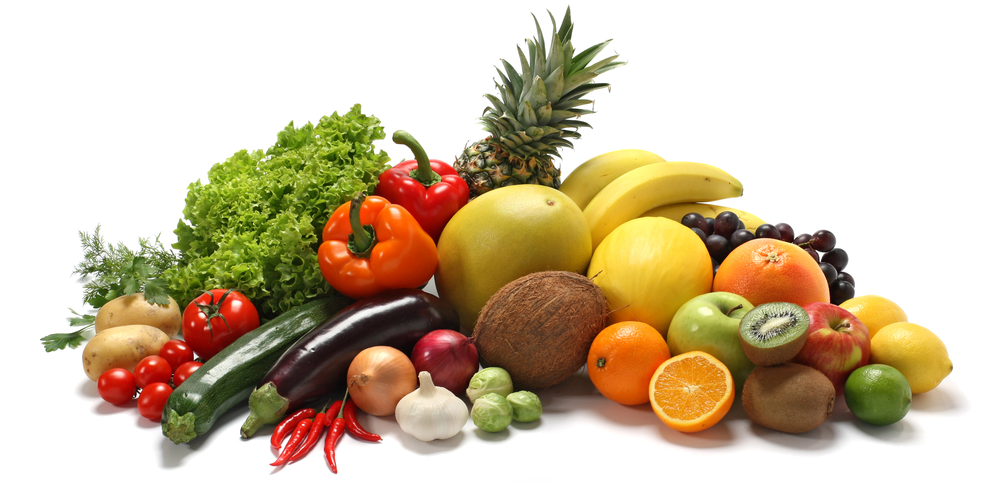 Healthy Food Free PNG Image - Fruits And Vegetables PNG HD