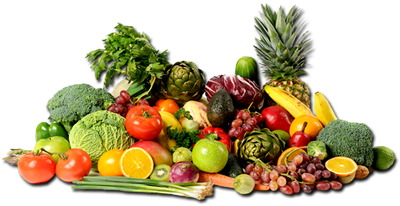 Paleo - Fruits And Vegetables PNG HD