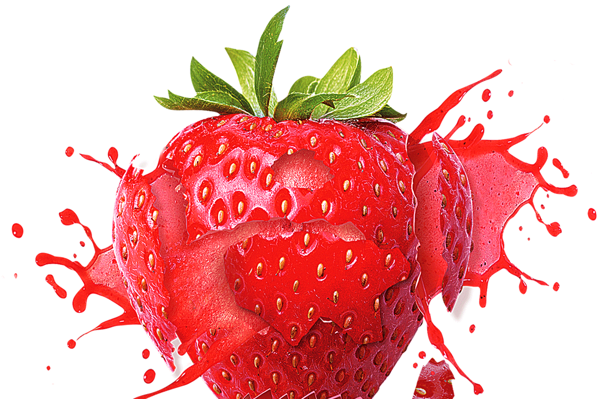Strawberry PNG HD - Fruits PNG HD