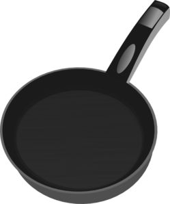 Frying Pan Clip Art - Frying Pan PNG
