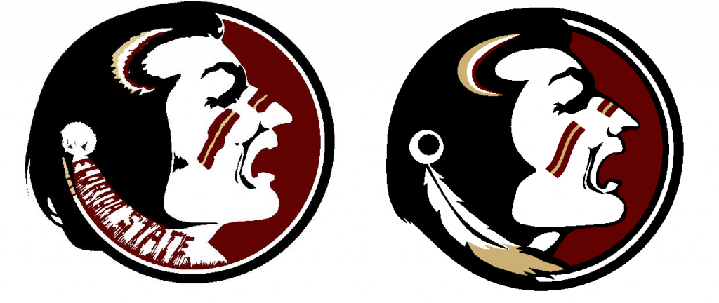 Back Again With Another Classic Logo Refresh. This Time FSU. The  Yelling/yawning/sneezing Seminole Is In Desperate Need Of An Update. - Fsu PNG
