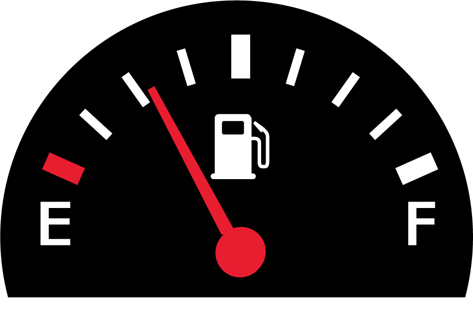 Despite charging punitive fuel rates, most rental operators still lose  money on fuel. The problem is that they lose smaller amounts on each  rental, PlusPng.com  - Fuel Gauge PNG