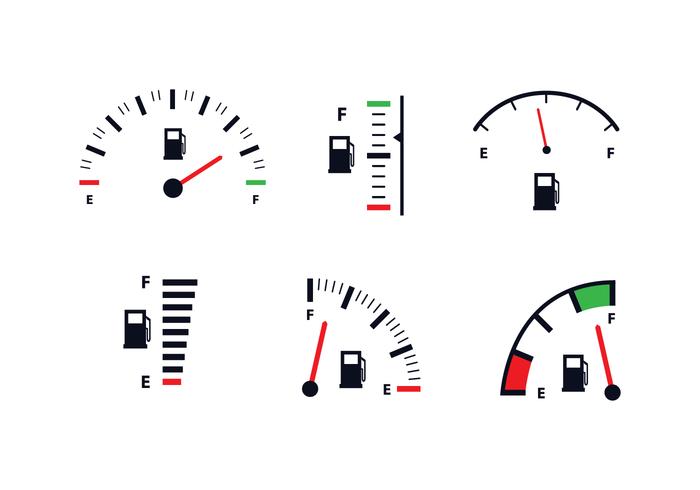 Free Fuel Gauge Icon Vector - Fuel Gauge PNG