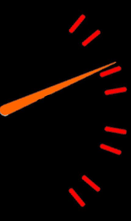 Fuel, Fuel Gauge, Petrol Meter, Petrol Gauge, Pointer - Fuel Gauge PNG