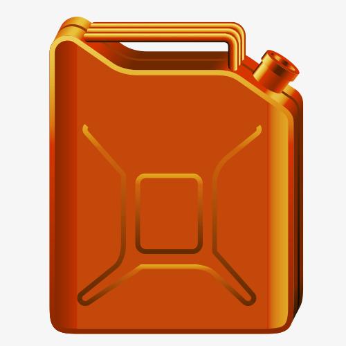 Cartoon fuel tank, Gasoline M