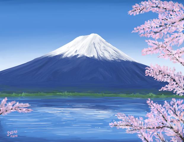 Fuji Mountain PNG - 157023