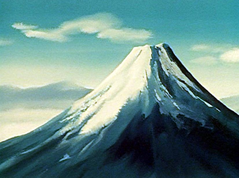 Fuji Mountain PNG - 157010