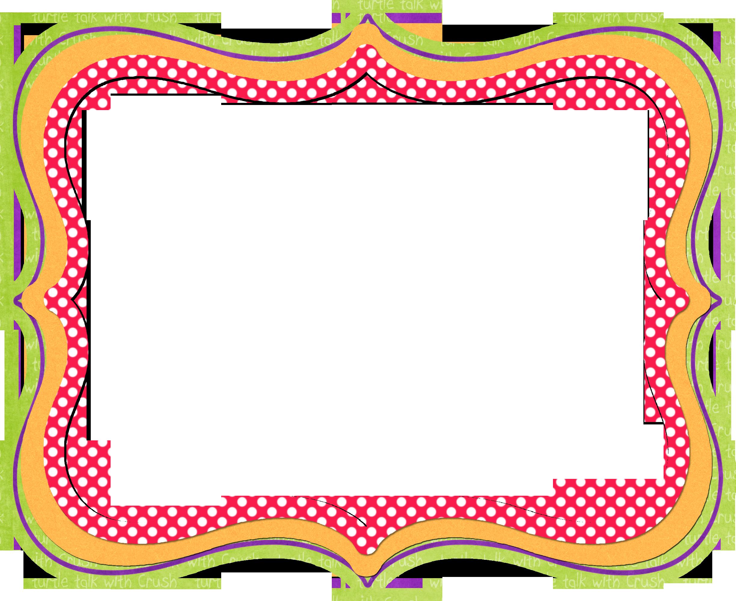 Fun PNG Borders Transparent Fun Borders.PNG Images.   PlusPNG