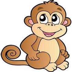 Free Monkey Clip Art Images   Cute Baby Monkeys - Funny Monkey PNG HD