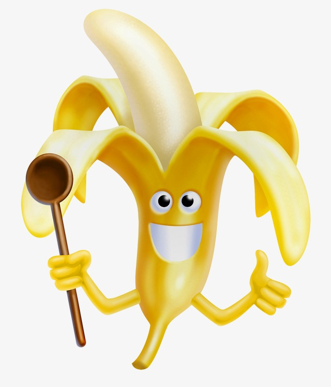 HD expression funny Bananas P