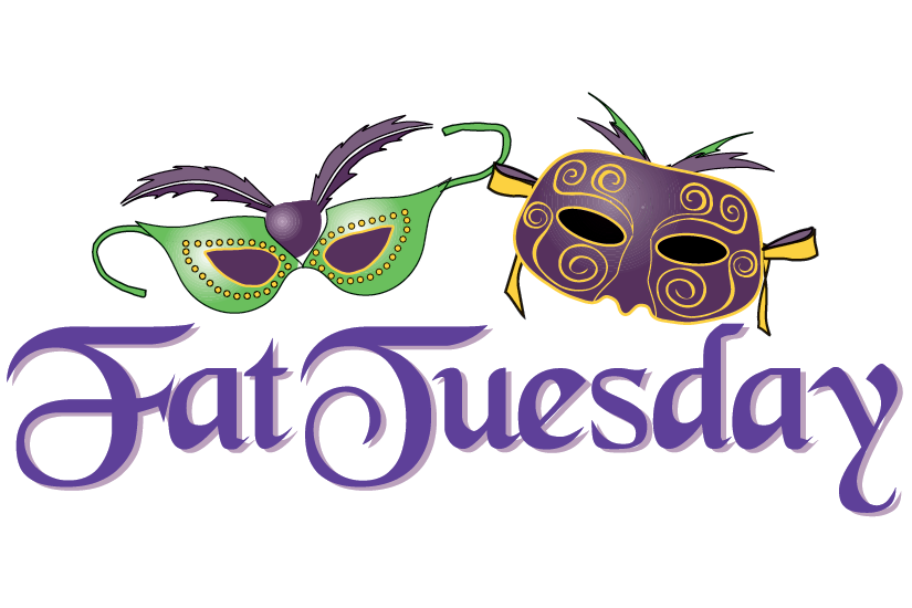 Fat Tuesday Clip Art - Funny Tuesday PNG