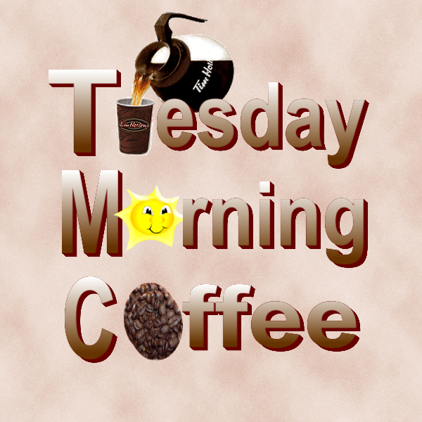 Tuesday Morning Coffee - Funny Tuesday PNG