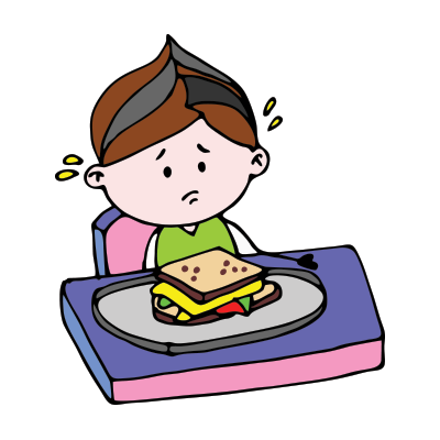 How to Deal With a Fussy Eater? - Fussy PNG