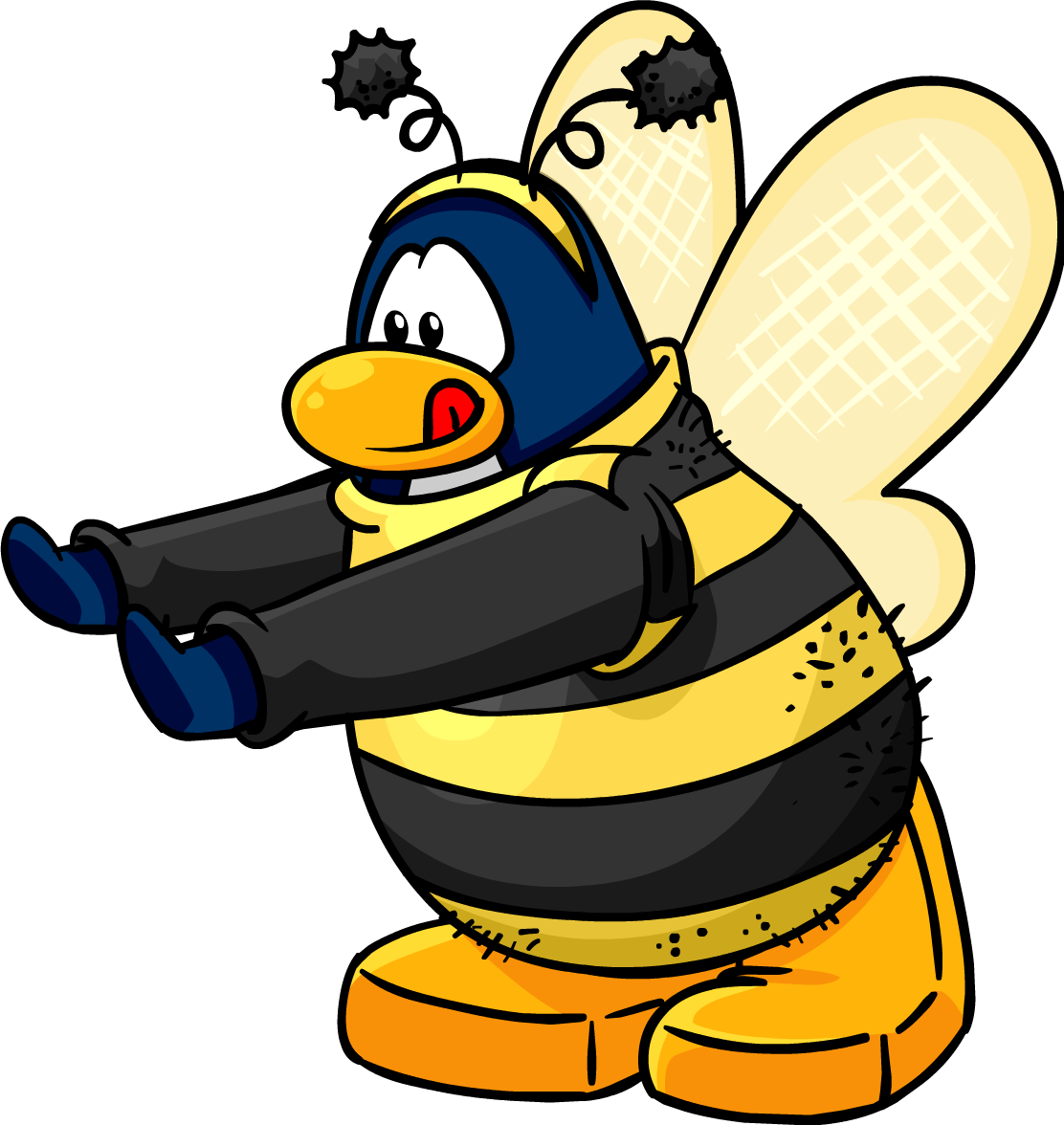 Fuzz the bee.png - Fuzz PNG
