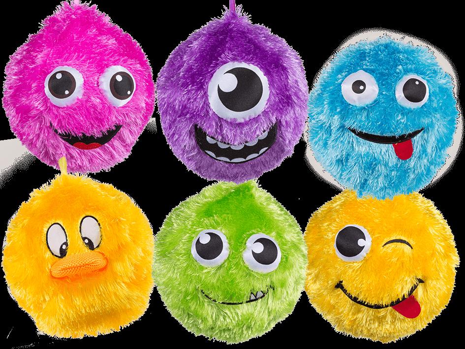 Fuzzy Face Ball,tactile toys,fuzzy face balls,tactile balls,tactile toys - Fuzzy Ball PNG