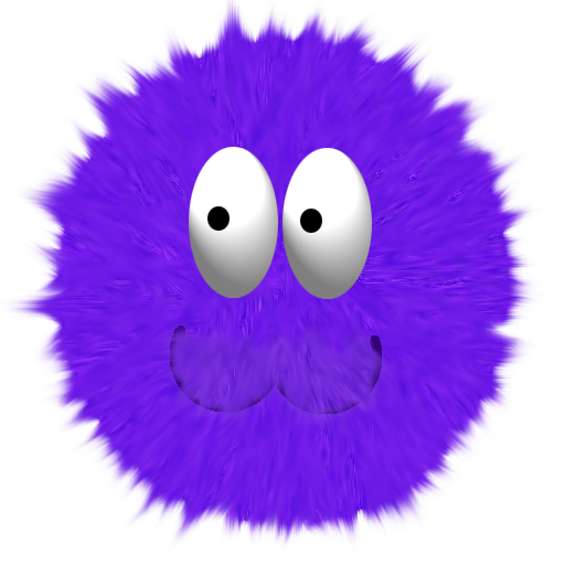 Fuzzy Ball PNG