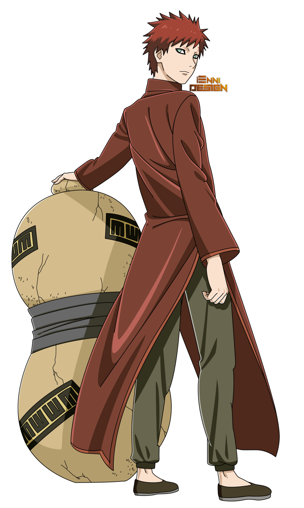 Chinese Clothing|Gaara of the Sand - Gaara PNG