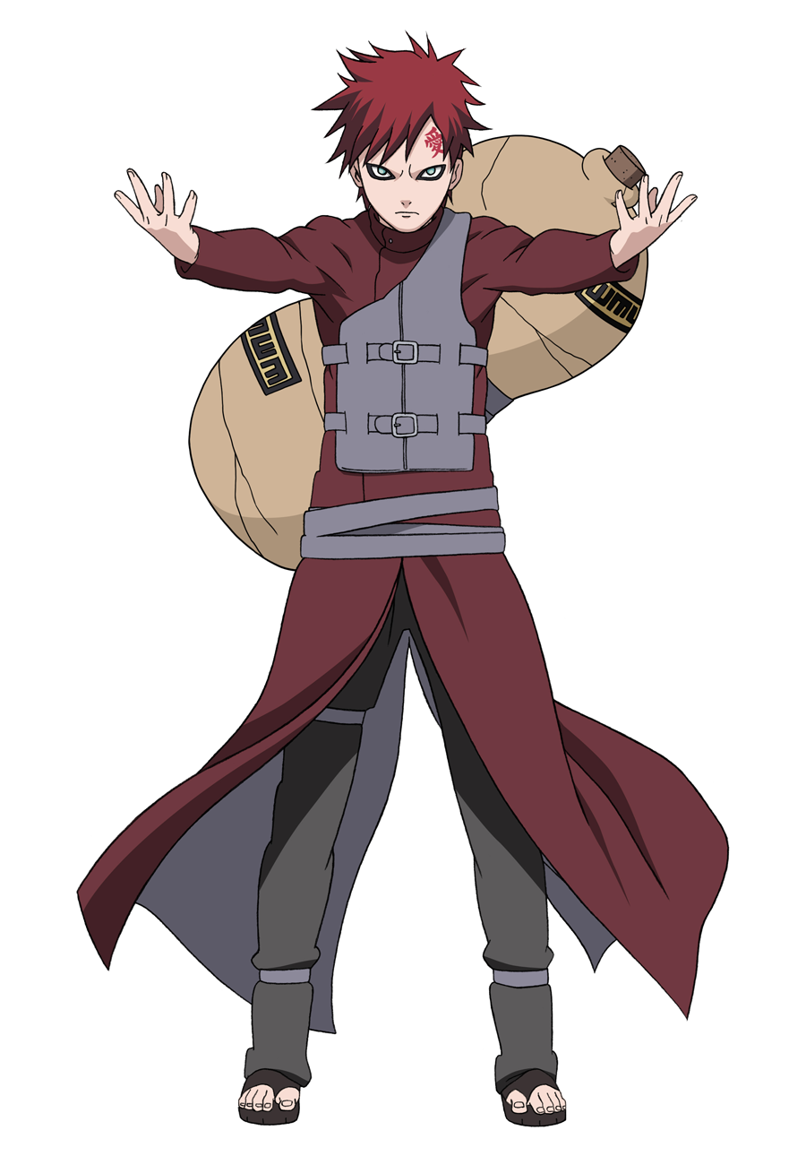 Gaara from Naruto.png - Gaara PNG