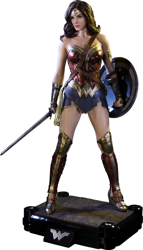 Dawn of Justice: Wonder Woman 1/2 Scale Polystone Statue by Prime 1 Studios - Gal Gadot PNG