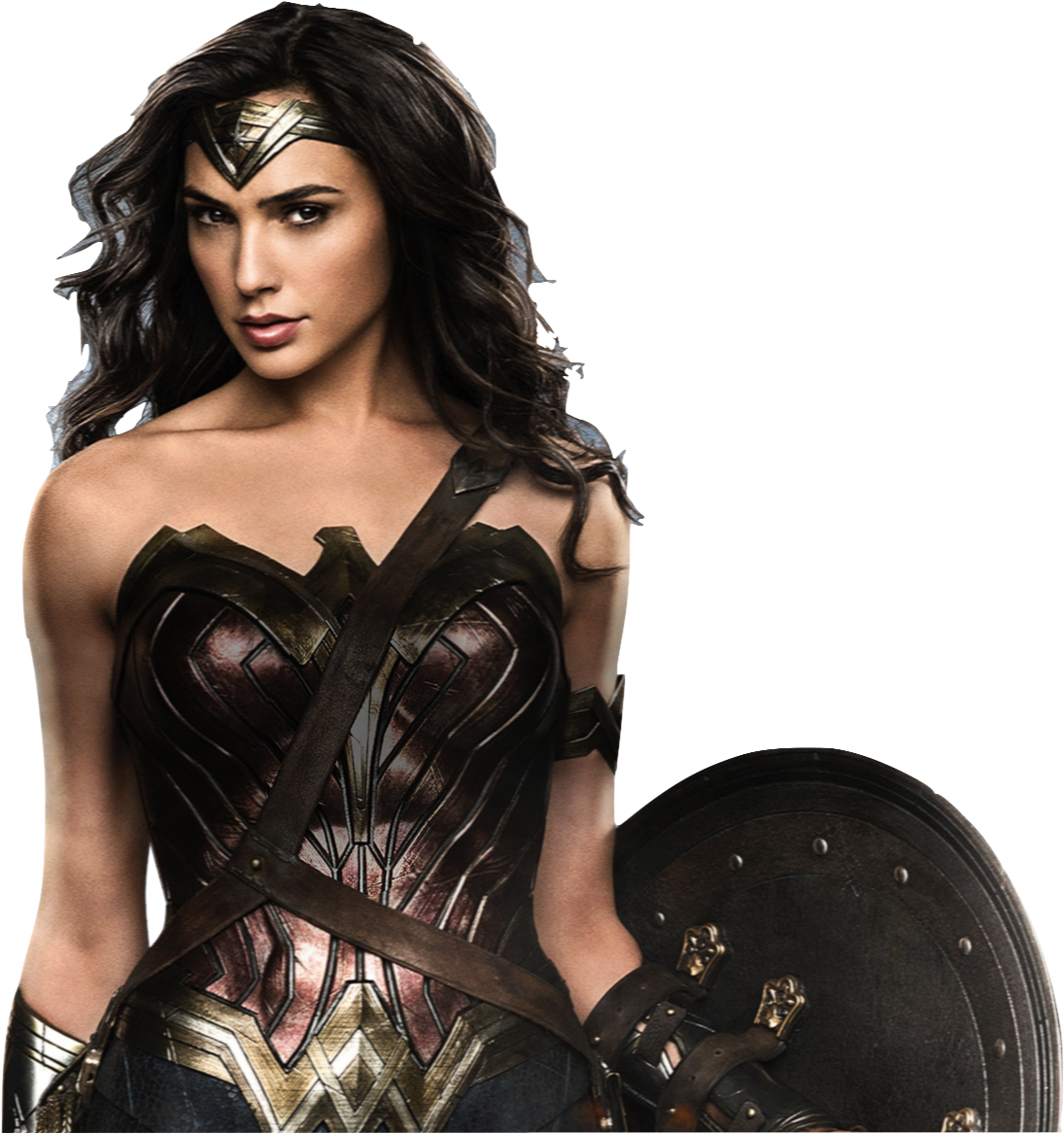 Gal Gadot as Wonder Woman with shield 2 PNG by nickelbackloverxoxox - Gal Gadot PNG