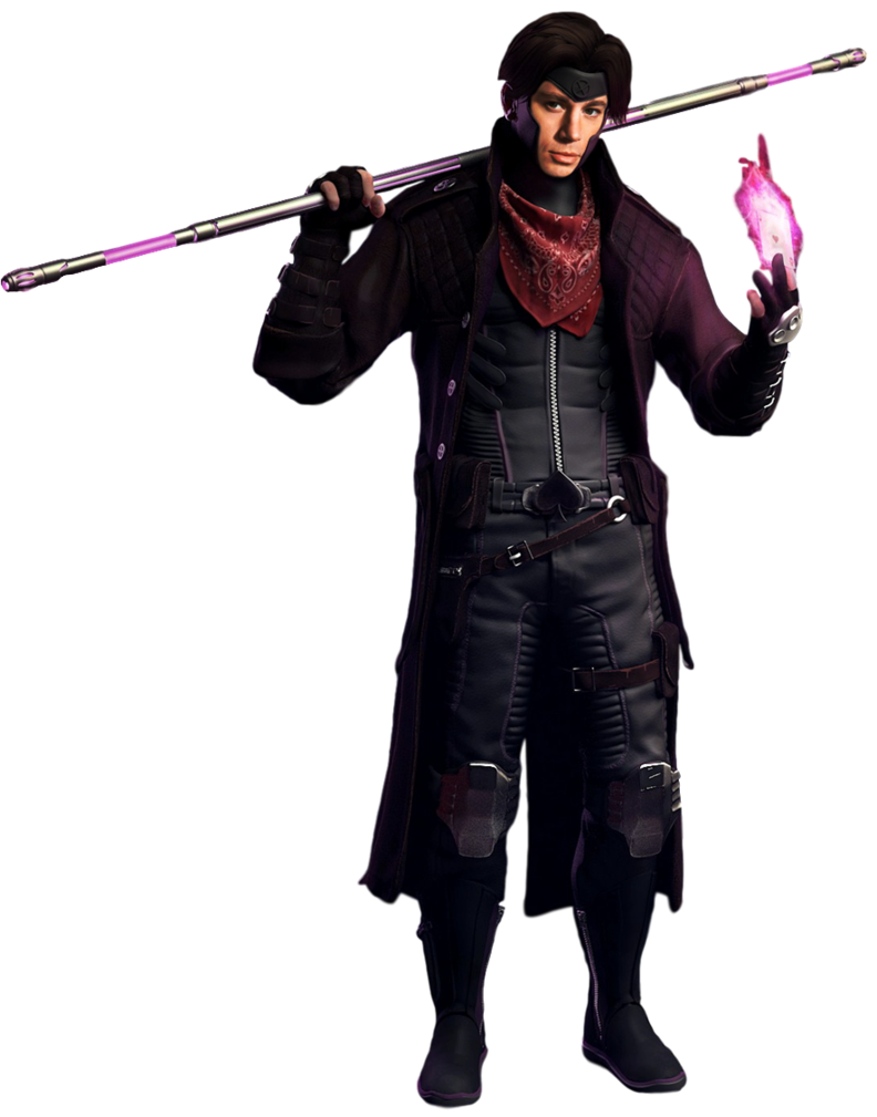 Gambit - Transparent Background! by Camo-Flauge PlusPng.com  - Gambit PNG