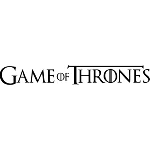 Game Of Thrones Logo Vector PNG