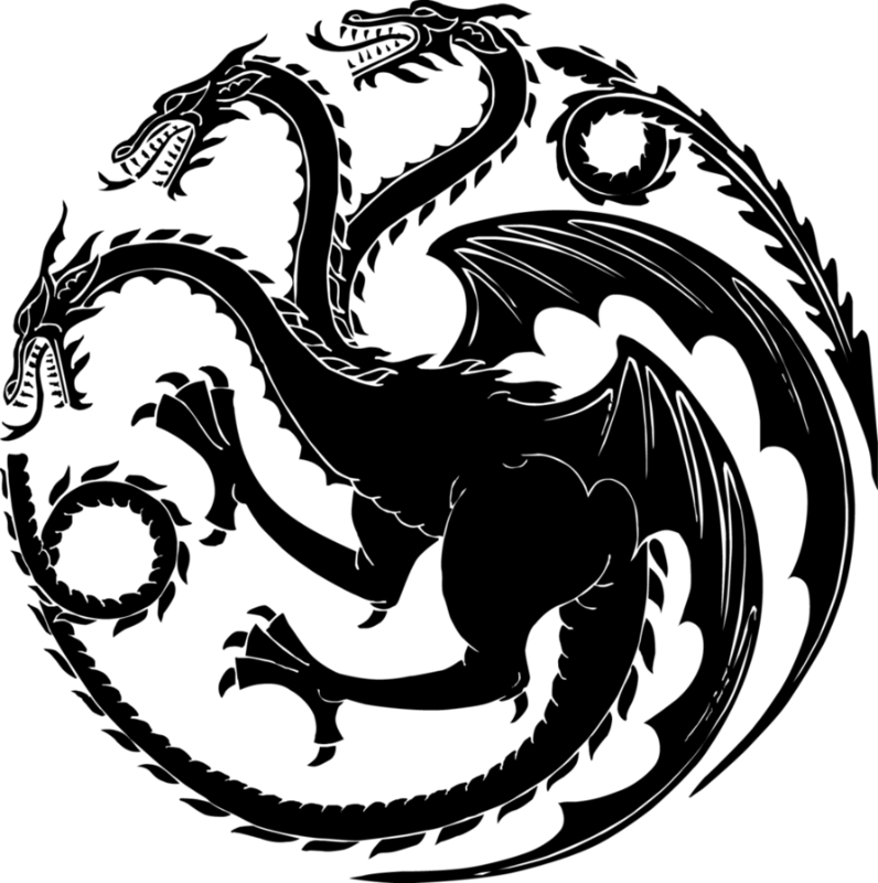 . PlusPng.com GAME OF THRONES: The Three Dragon Heads | Patricia Vergara- SEO Sr.  Creative PlusPng.com  - Game Of Thrones PNG