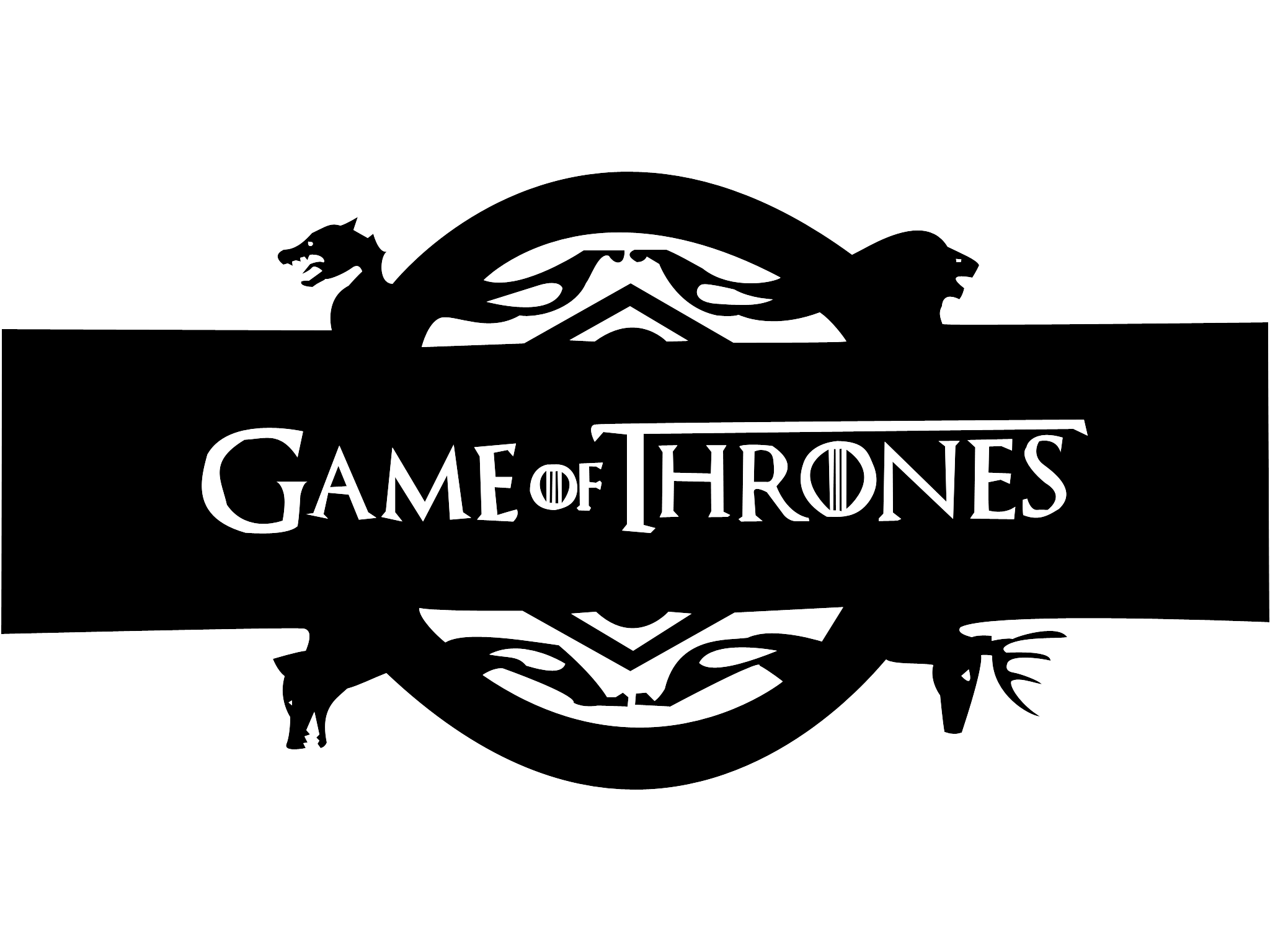 game of thrones stencil - Google Search - Game Of Thrones PNG