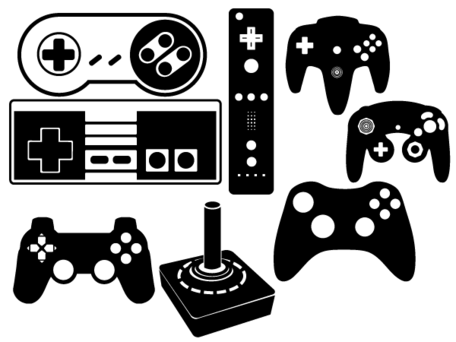 Controller clipart retro · Drawn controller black and white - Game PNG Black And White