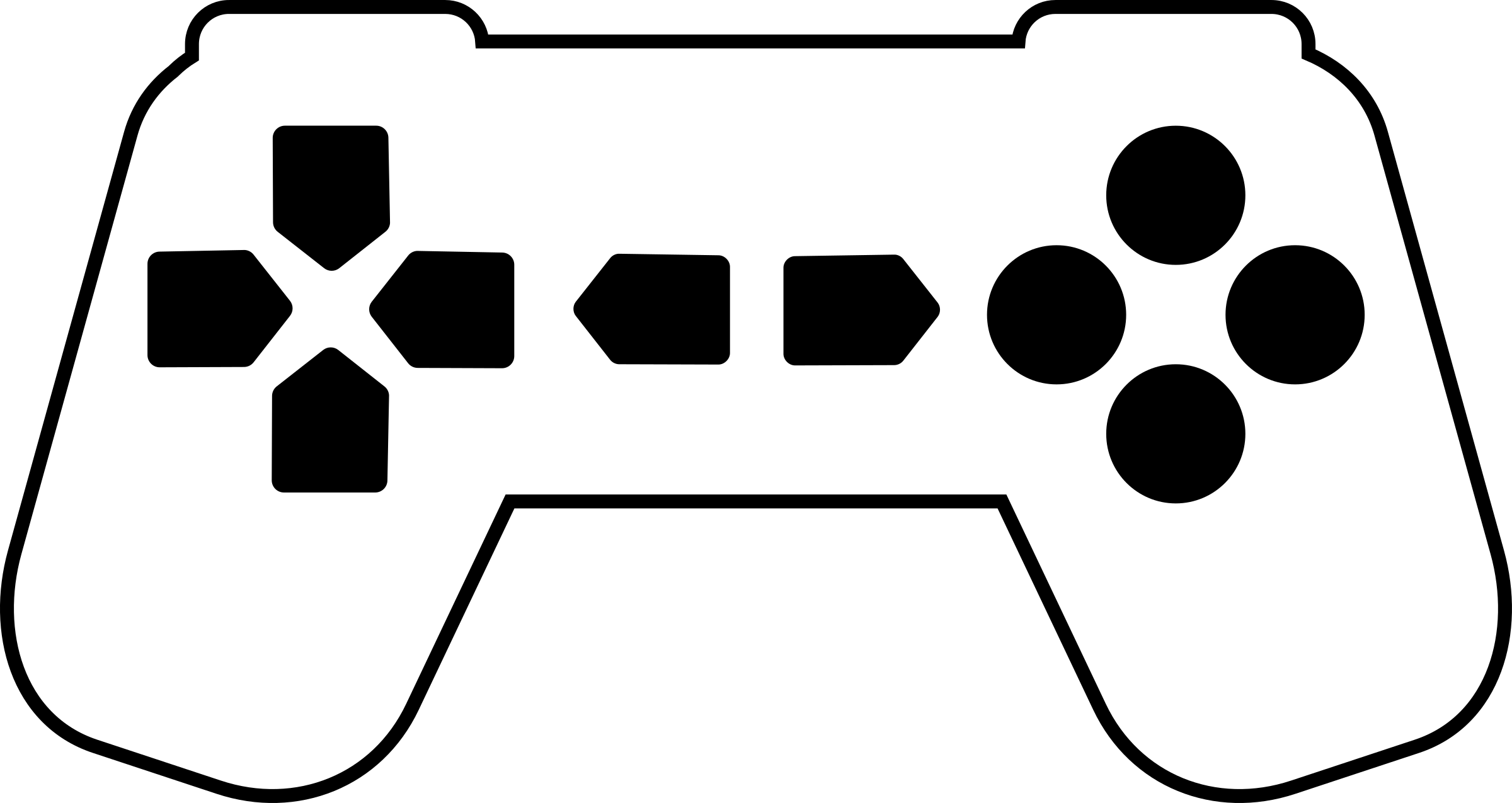 Game PNG Black And White