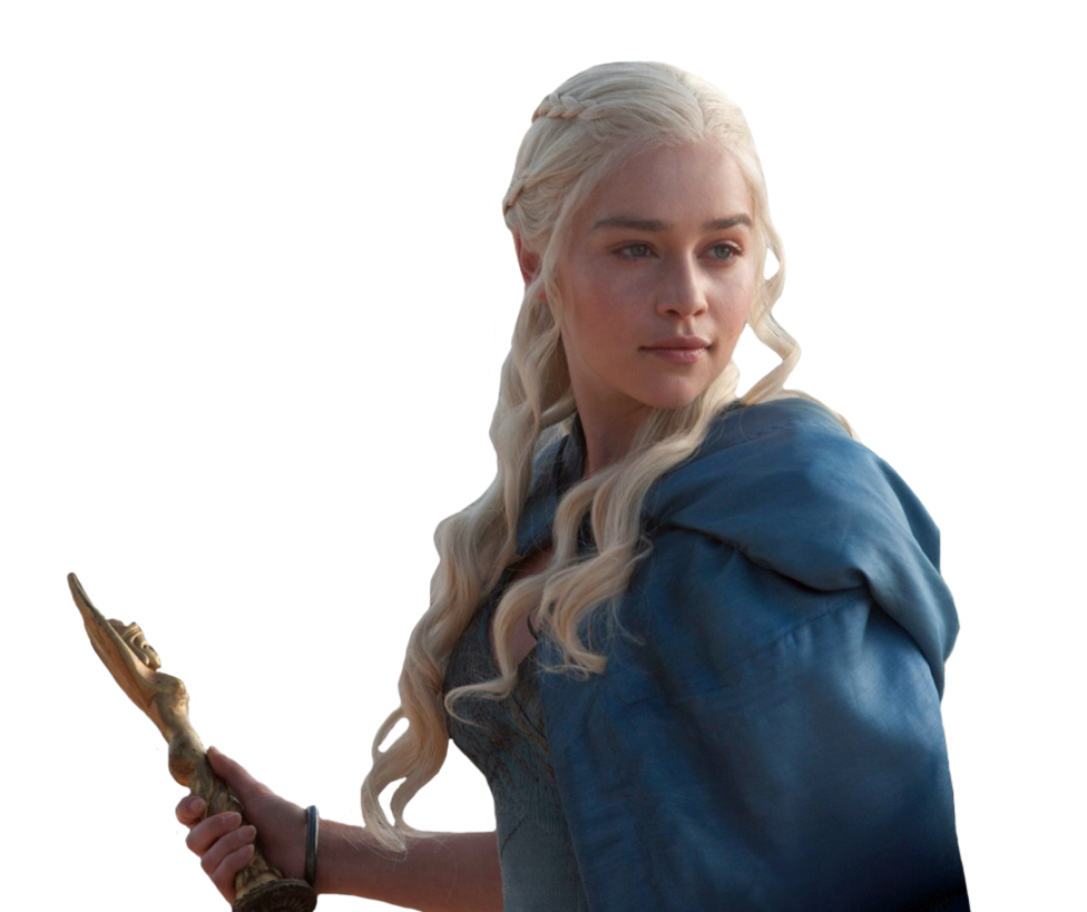 Daenerys Targaryen-Game of Thrones PNG 4 by Isobel-Theroux PlusPng.com  - Gameofthrones HD PNG