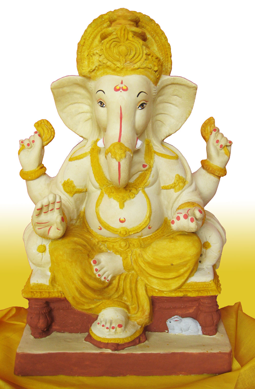 The PlusPng.com  - Ganesh Idol PNG