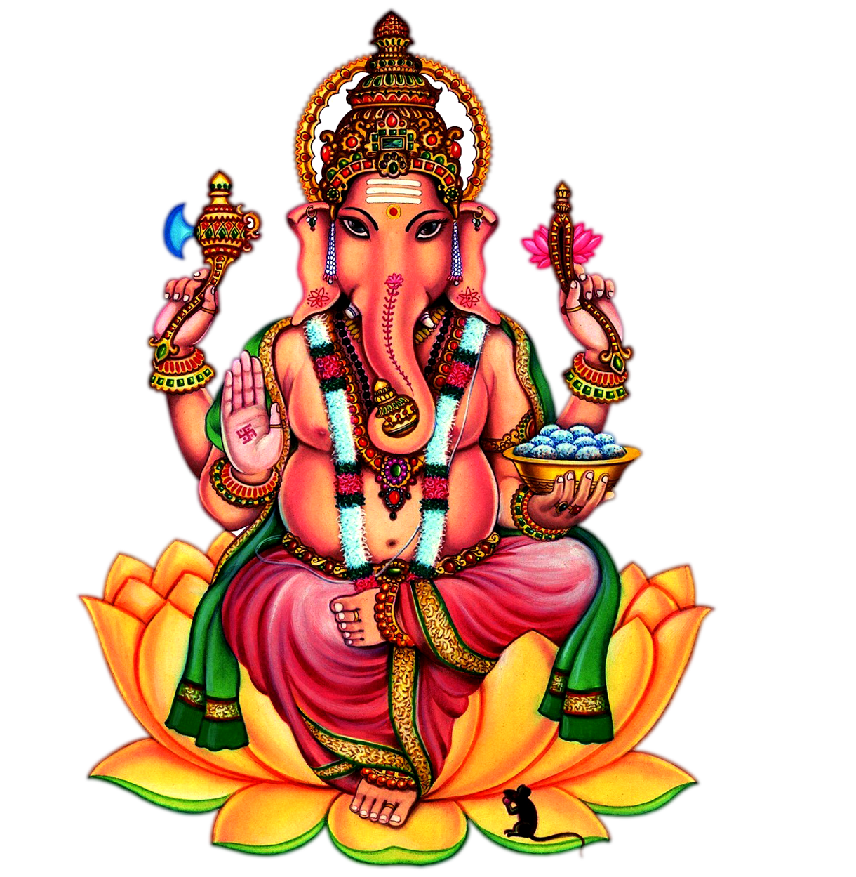 Ganesha PNG Images Transparent Free - Sri Ganesh PNG