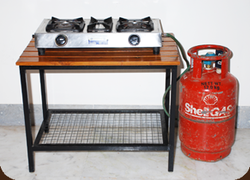 Gas Stove With Cylinder PNG - 134801