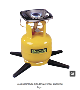 Image is loading Gasmate-LPG-Propane-Single-Burner-Portable-Camping-Camp- - Gas Stove With Cylinder PNG