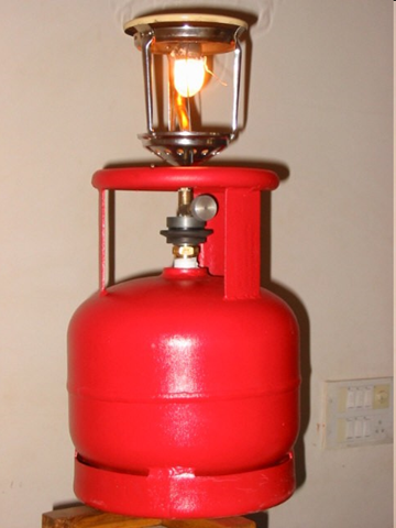 Gas Stove With Cylinder PNG - 134794