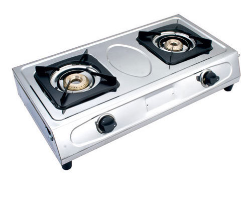 LPG Two Burner Gas Stove - Gas Stove With Cylinder PNG